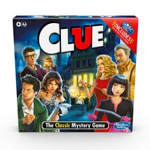 NEW SEALED Hasbro Clue Board Game Walmart Exclusive w/ Activity Sheet - $14.89