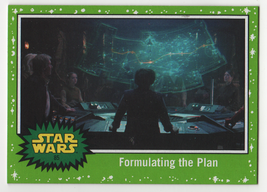 2017 Star Wars Journey to the Last Jedi 85 Formulating the Plan Green Card - $0.98