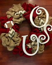 Ohio State Buckeyes Wreath! Perfect for the fan... - $50.00
