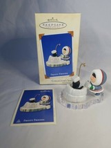 Hallmark Keepsake Christmas Frosty Friends Penguins  Iceberg 2002 #23 - $19.99