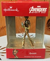Hallmark Marvel Teen Groot with Game Boxed Christmas Ornament NEW - $15.99