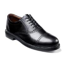 Florsheim Mens Walking Shoes Noval Cap Toe Oxford Black Leather 17069-01  - $139.99