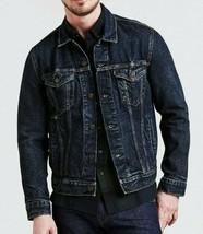 Levi's Premium Big E 723340309 Mens Trucker Jacket blue medium wash 100%... - $89.50