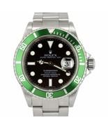 2009 MINT Rolex Submariner Kermit Z Green 50th Anniversary Steel 16610 L... - $11,692.11
