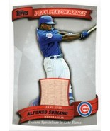 2010 Topps Peak Performance Relics #PPR-AS Alfonso Soriano Cubs S2 NM-MT... - $8.00