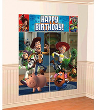 Amscan Disney 'Toy Story' Scene Setters Wall Decoration Kit, Birthday - $25.90