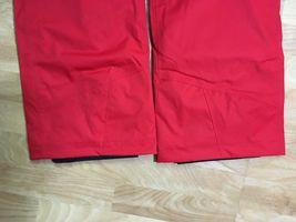 Salomon Response Ski Snowboard Pants Unisex, Size XS or S, Red, NEW image 7