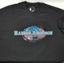 Harley-Davidson Washington PA Black Short Sleeve T-Shirt Men's X-Large F... - $28.88