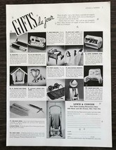 1936 Lewis & Conger Print Ad Gifts Du Jour New Yorks Leading Housewares ... - $11.69