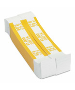 NEW Coin-Tainer Currency Straps, Yellow, 1,000 in $10 Bills,1000 Bands - $12.25