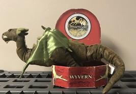 2006 Sababa Toys Dragonology Wyvern Plush Winged Dragon New In Box - $44.55