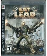 Eat Lead: The Return of Matt Hazard (Sony PlayStation 3, 2009) No Manual - $7.91