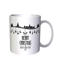 Merry Christmas And Happy New Year Novelty 11oz Mug p33 - $10.83