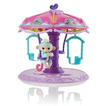 WowWee Fingerlings Playset: Twirl-A-Whirl Carousel with 1 Fingerlings Ba... - $27.25