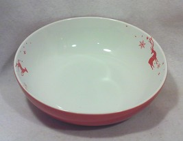 Tord Boontje Serving Bowl, Red and White Porcelain - $139.99