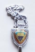 Collector Souvenir Spoon Canada Quebec Ste. Agathe Des Monts Moose Figural - $9.99