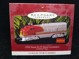 Hallmark Keepsake Ornament Lionel Train Santa F3 Diesel Locomotive Brand New - $6.92