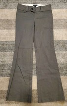 Banana Republic Gray Flare Wide-Leg Dress Pants for Women, Martin Fit, Size 4 - $14.00