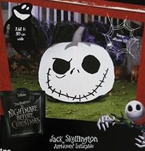 Nightmare Before Christmas Jack Skellington Pumpkin Airblown Inflatable ... - $46.62