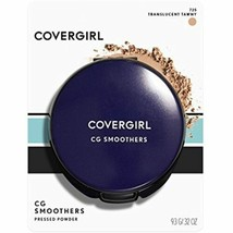 COVERGIRL Smoothers Pressed Powder, Translucent Tawny, .32 Ounce, 1 Count - $8.52