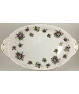 "Royal Albert Sweet Violets Oval tray 8 "" - $25.00"
