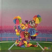 Vintage Lisa Frank Cheer Bears Stationery  2 sheets KOALA PANDA BEAR image 2