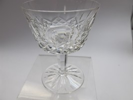 Waterford crystal Lismore cocktail glass Signed - $13.10