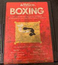 ATARI 2600 Boxing Activision tested video game cartridge 1980 rough label - $1.59