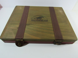 "2004 ""Old Century"" Stretch Run Horse Racing Game In Wooden Box - $33.66"