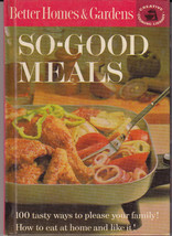 Better Homes & Gardens So-Good Meals C3 Creative Cooking Library (1963, 1st Ed) - $3.79