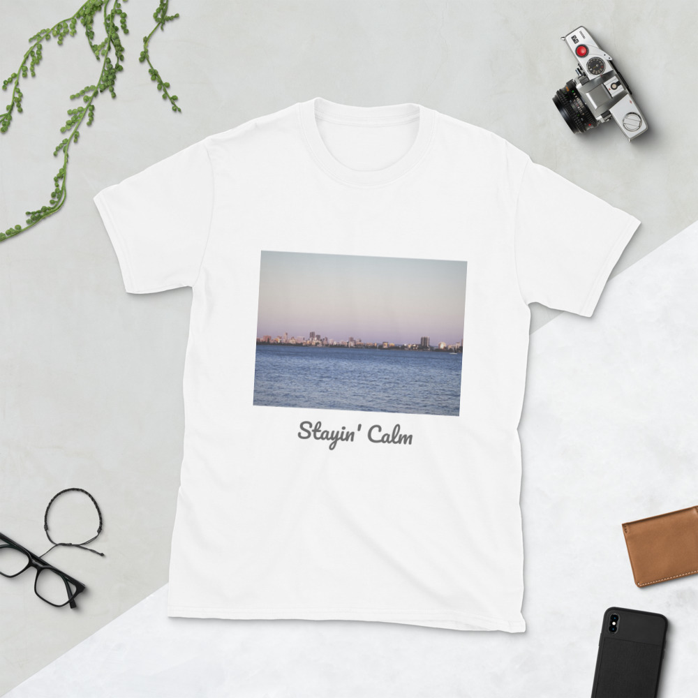 Primary image for Stayin' Calm Short-Sleeve Unisex T-Shirt