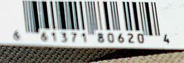 Ganz Brand ER39002 Chevron Design Beige Tan Teal Zipper Makeup Bag image 9