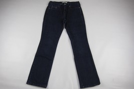 "LEVI'S 505 Straight leg Dark Blue Jeans Size 6 M (Length 29.5"") - $11.39"