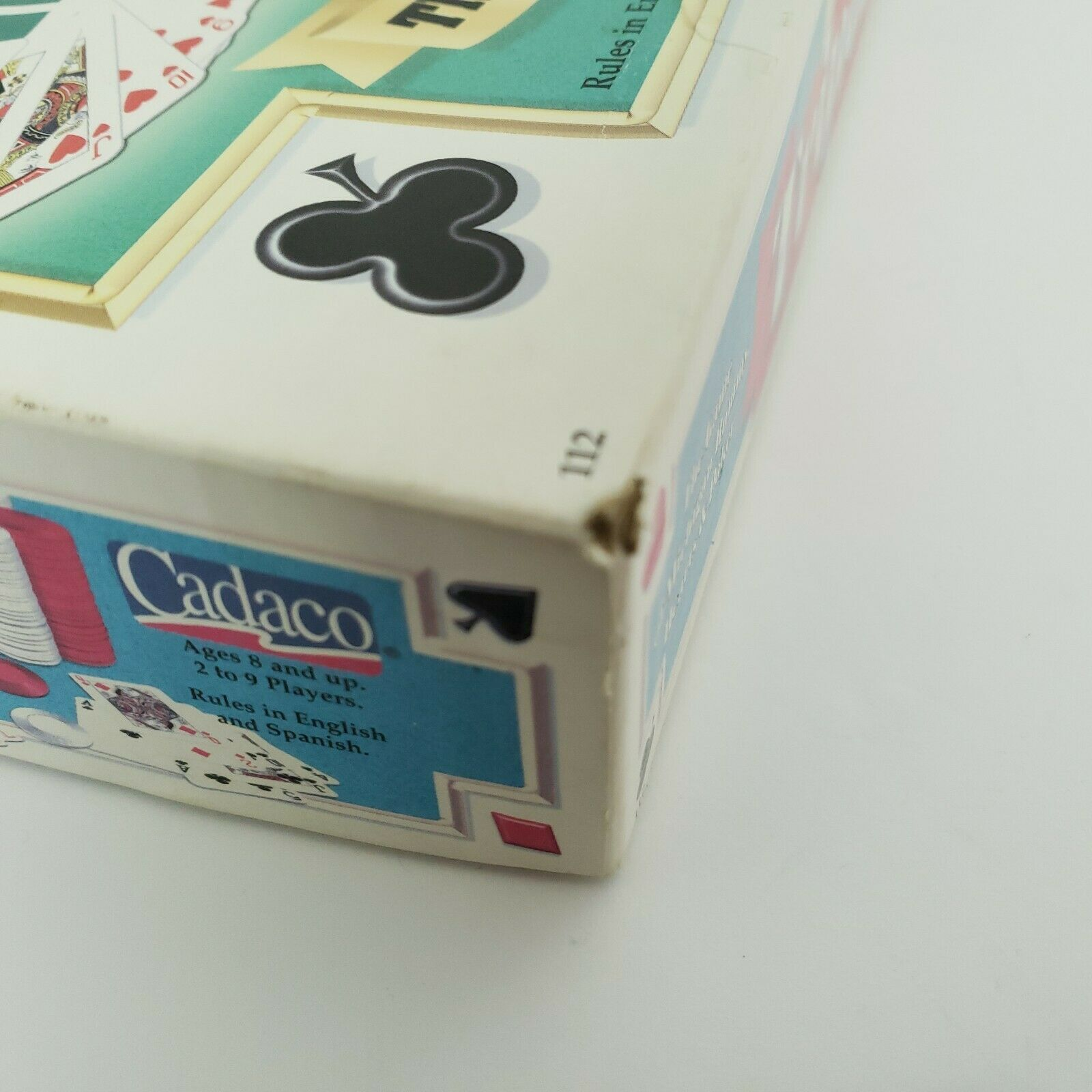 Tripoley Board Game Deluxe Mat Version Cadaco 2-9 Players Vintage 1999 Complete image 11