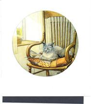 Funny Cats Art Print Zoe Stokes Original Vintage Cat Artwork Cats Home D... - $5.35