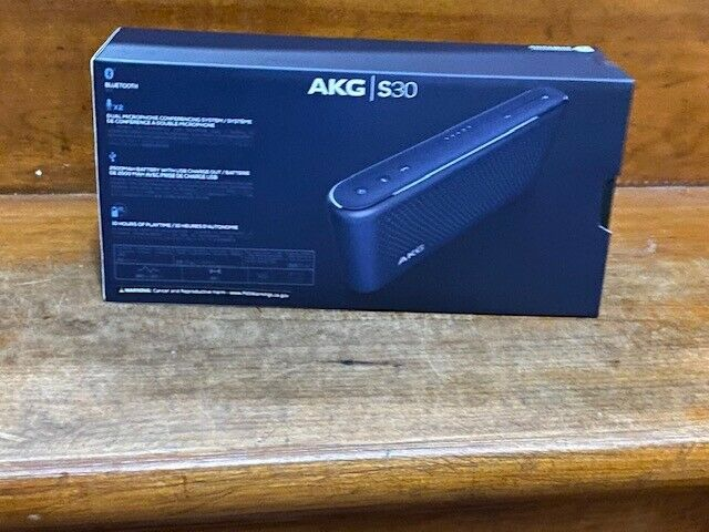 Harmon AKG S30 All-in-one Bluetooth Travel Speaker New Sealed - Blue