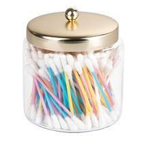 mDesign Modern Bathroom Vanity Storage Organizer Canister Jar for Q Tips... - $15.55