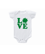 St Patricks Day Love Baby Onesie - $15.00