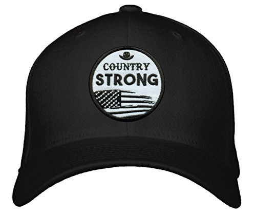 Country Strong Hat - Style Cap Color Options (Black)