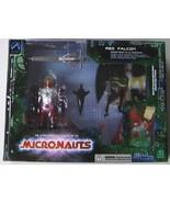 MICRONAUTS RED FALCON Deluxe boxed edition - $98.99