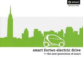 2011 Smart FORTWO ELECTRIC DRIVE US brochure catalog folder 11 Swatch EV - $8.00