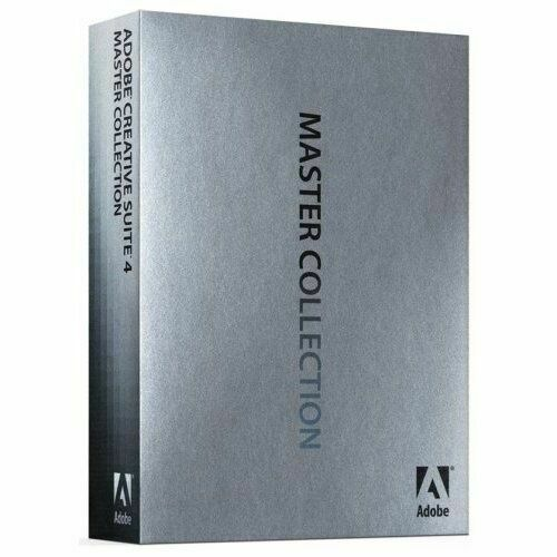 Adobe Creative Suite 4 Master Collection 65023912
