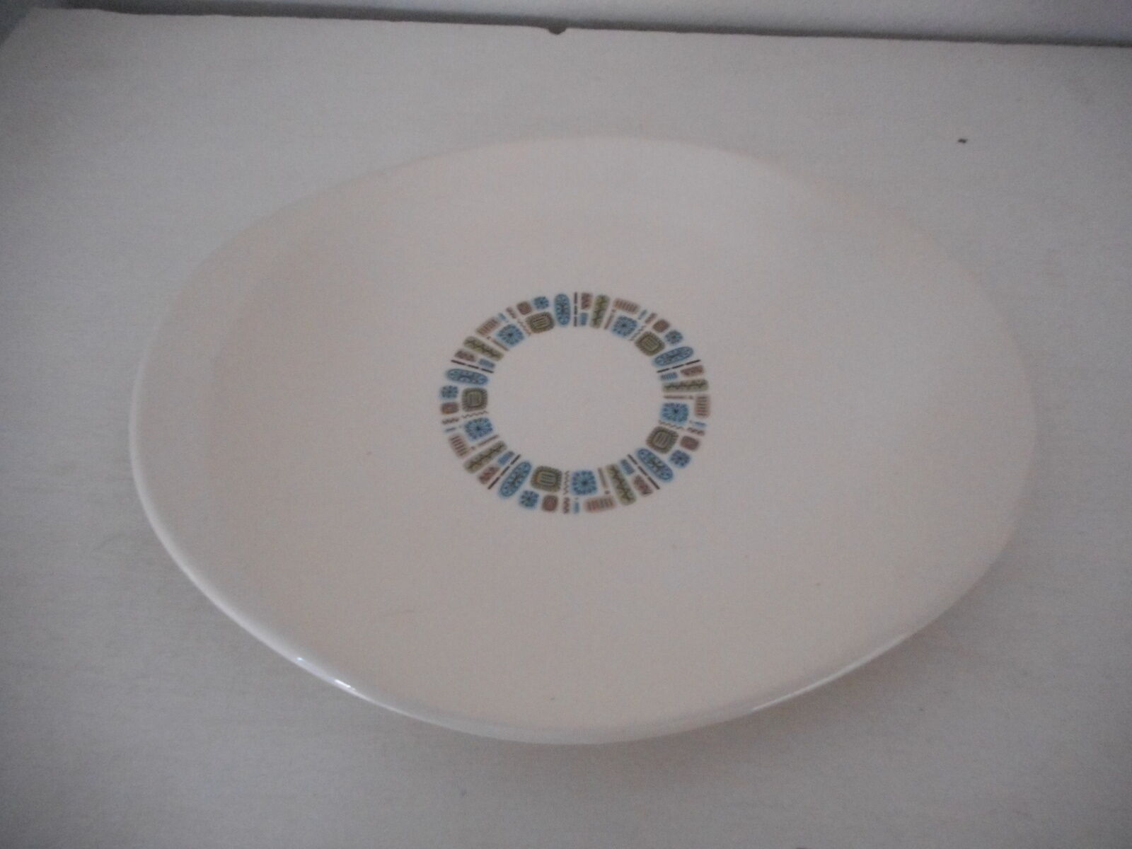 Vintage Canonsburg Temporama Oval Serving Platter Mid Century Modern Atomic