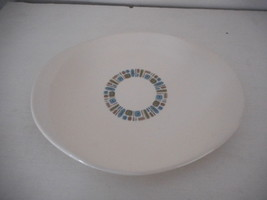 Vintage Canonsburg Temporama Oval Serving Platter Mid Century Modern Atomic - $19.79