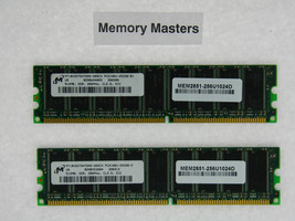 MEM2851-256U1024D 1GB Approved 2X512MB DRAM Memory Cisco 2851