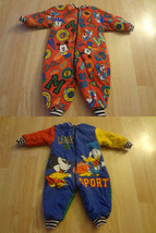 Infant/Baby Disney Vintage 6/12 Months Warm Outfit Reversible! - $28.04