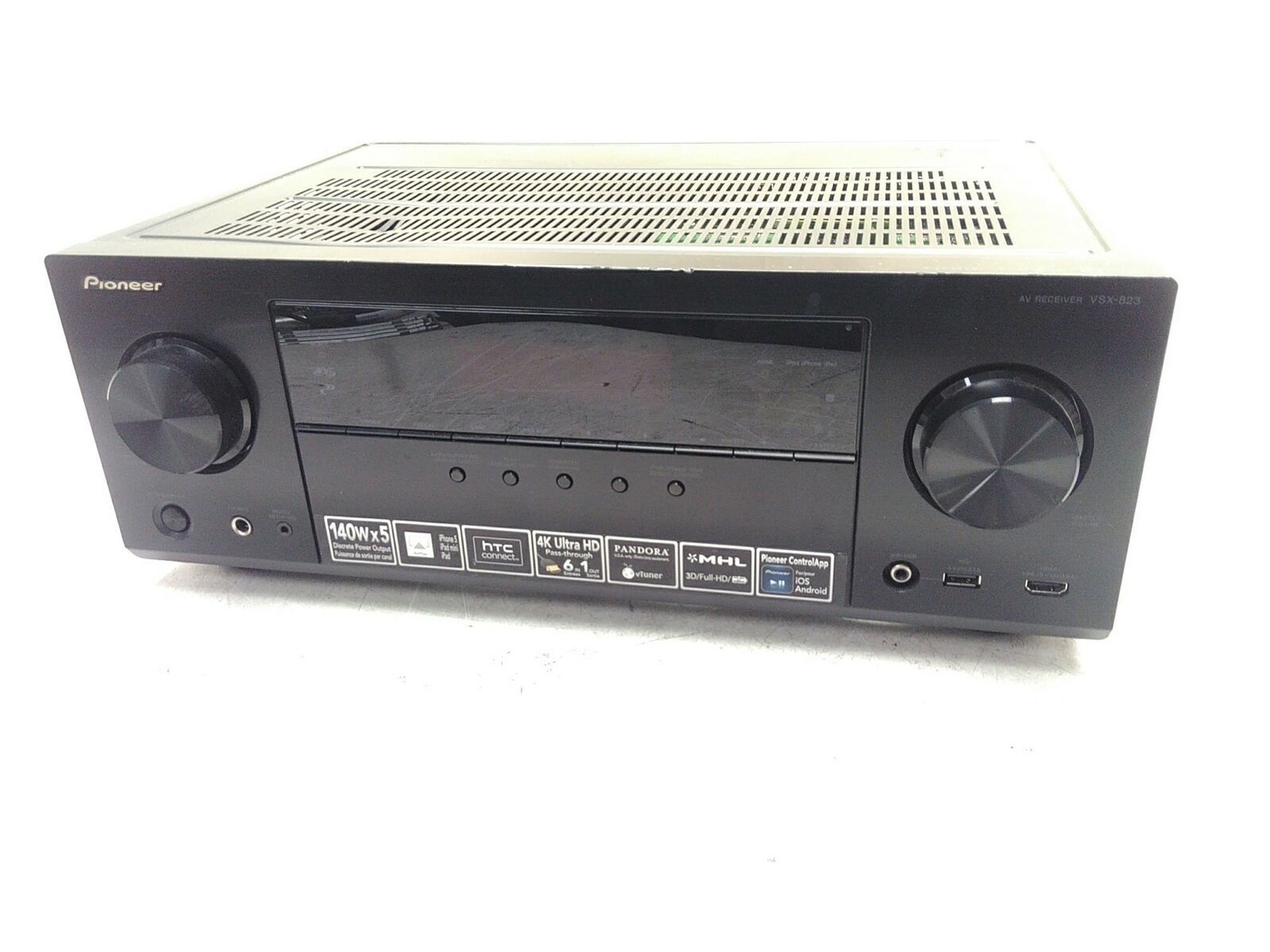 Pioneer VSX-823 140W 4K HDMI Home Receiver Limited Testing AS-IS Parts - $72.00