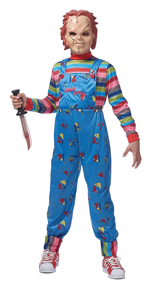 Chucky Costume Child's Play Kids Halloween Costume