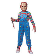 Chucky Costume Child's Play Kids Halloween Costume - $707,34 MXN