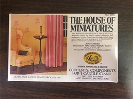 The House Of Miniatures X-ACTO Queen Anne Candle Stand Unopened 40013 - $9.99